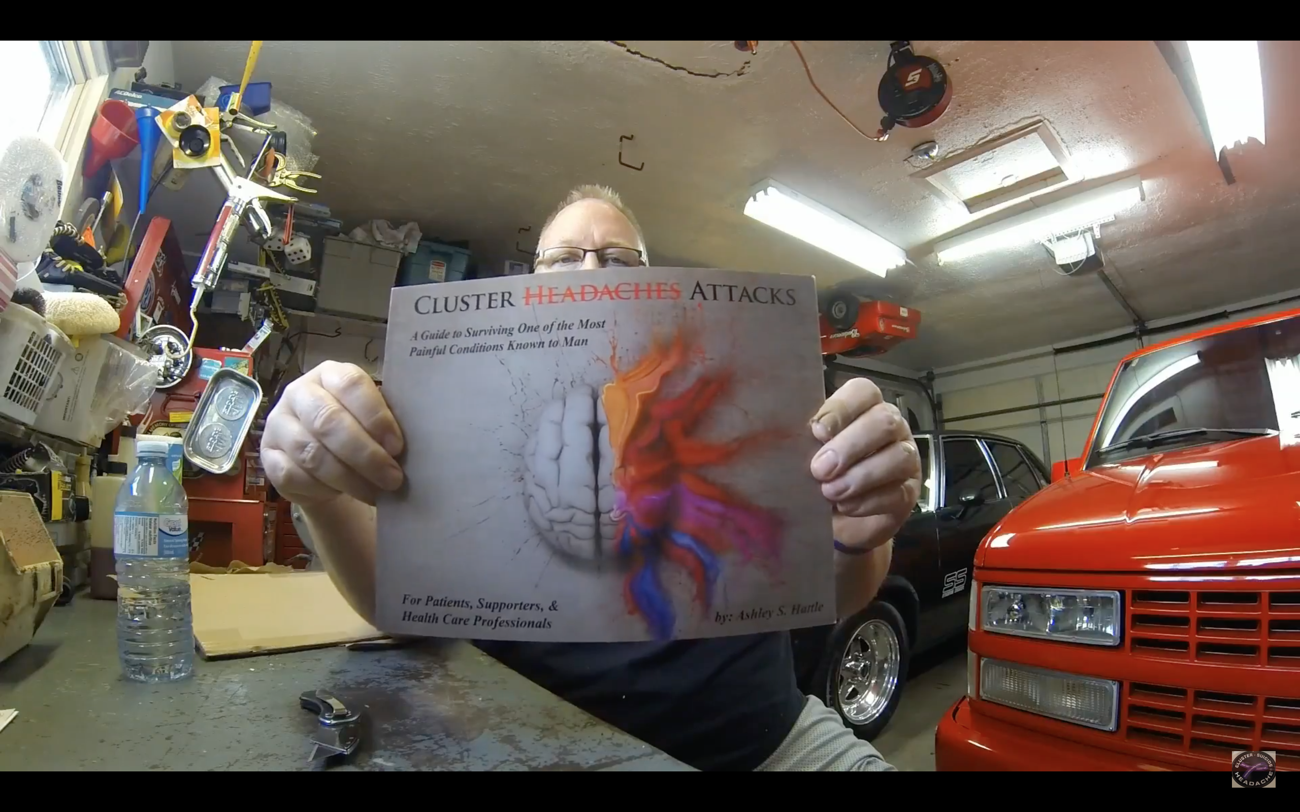 Clusterhead Survivor Video Blog Features Hattle's Cluster Headache Book