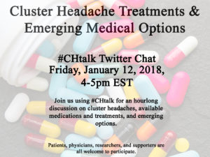 Cluster headaches on Twitter